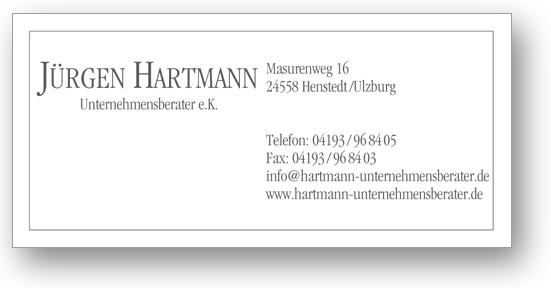 Hartmann Unternehmensberater E K